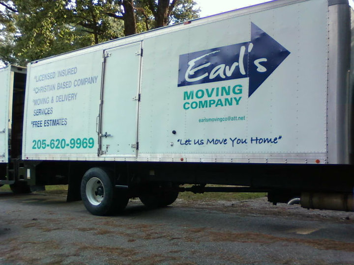 Earl's Moving Company Moving Truck